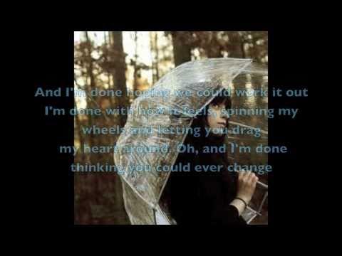 A Little Bit Stronger by Sara Evans WITH LYRICS!*