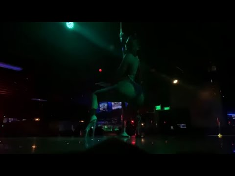 Stripper Vlog : STAGE FOOTAGE