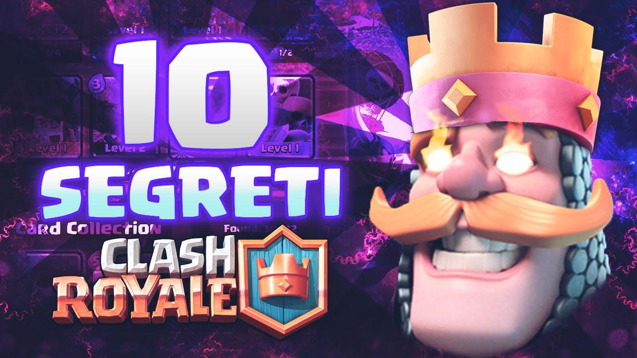 Clash Royale I 10 Segreti Per Vincere Clash Royale Ita Youtube