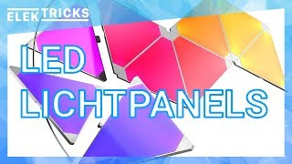 Smarte LED Panel Nanoleaf Aurora Review / Test Deutsch #ElekTricks - Robin.tv