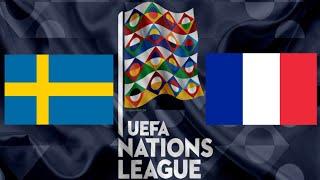 ШВЕЦИЯ ФРАНЦИЯ прямой эфир ФУТБОЛ 05 09 2020 ЛИГА НАЦИЙ смотреть онлайн прямая трансляция матч FIFA