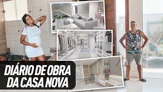 OBRA DA CASA NOVA - COMO TÁ FICANDO?!