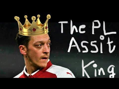 Mesut Ozil : The Premier League Assist King (2018)
