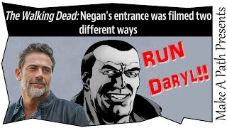 Negan WILL say F**K on TV! YES!! The Walking Dead on AMC Season 6