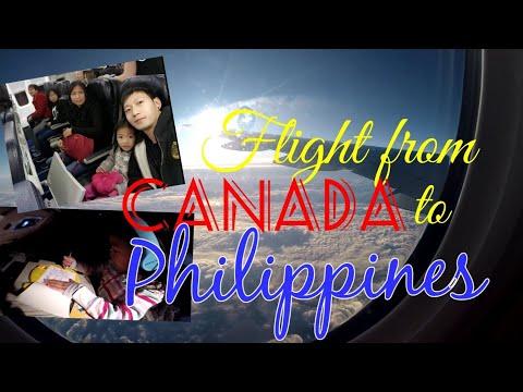 Flight From Canada To Philippines Via WestJet & Korean Air | YXE  ➡ YVR ➡ ICN ➡ MNL