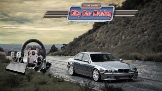 BMW E39 M5 Modu - City Car Driving (ccd mods) türkçe oynanış - Bölüm 1 w/fanatec direksiyon seti