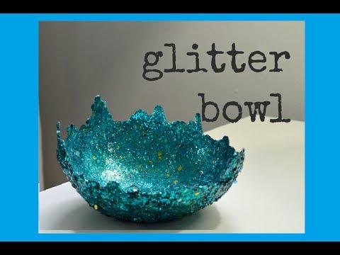 Glitter bowl pintober 12 youtube for Glitter bowl