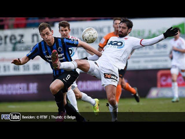 2014-2015 - Jupiler Pro League - 25. KV Kortrijk - Club Brugge 2-0