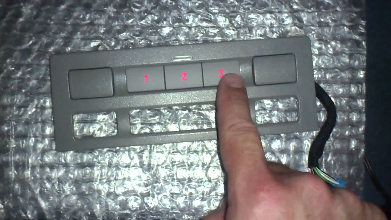 Vw touareg garage door opener mod youtube for Garage vw illkirch
