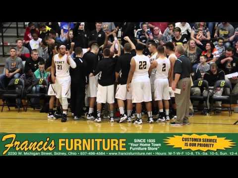 Sidney vs. Miamisburg High School Boys Basketball