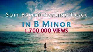 B Minor Emotional Ballad Backing Track 93 Bpm