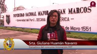 Tema:Primer puesto en concurso del MIT, es sanmarquina