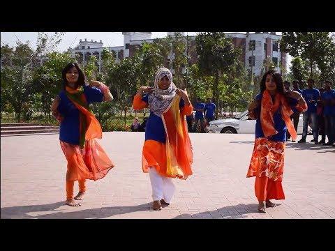 Flash Mob | AIS 8th Batch - BRUR | 2nd Anniversary | Batch Day 2018 | Begum Rokeya University