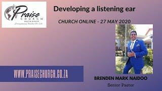 Developing a listening ear