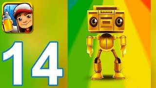 Subway Surfers - Gameplay Walkthrough Part 14 - Boombot (iOS, Android)