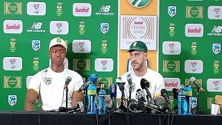 Watch: Faf expressed his anger about the Centurion track after the series win