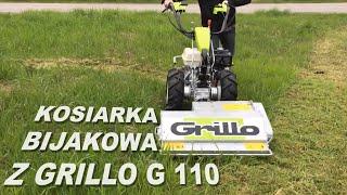 Kosiarka bijakowa z traktorem jednoosiowym Grillo G 110