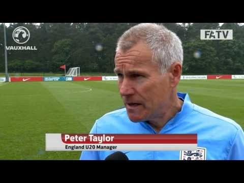 Head coach Peter Taylor on England's chances @ the U20s World Cup in Turkey