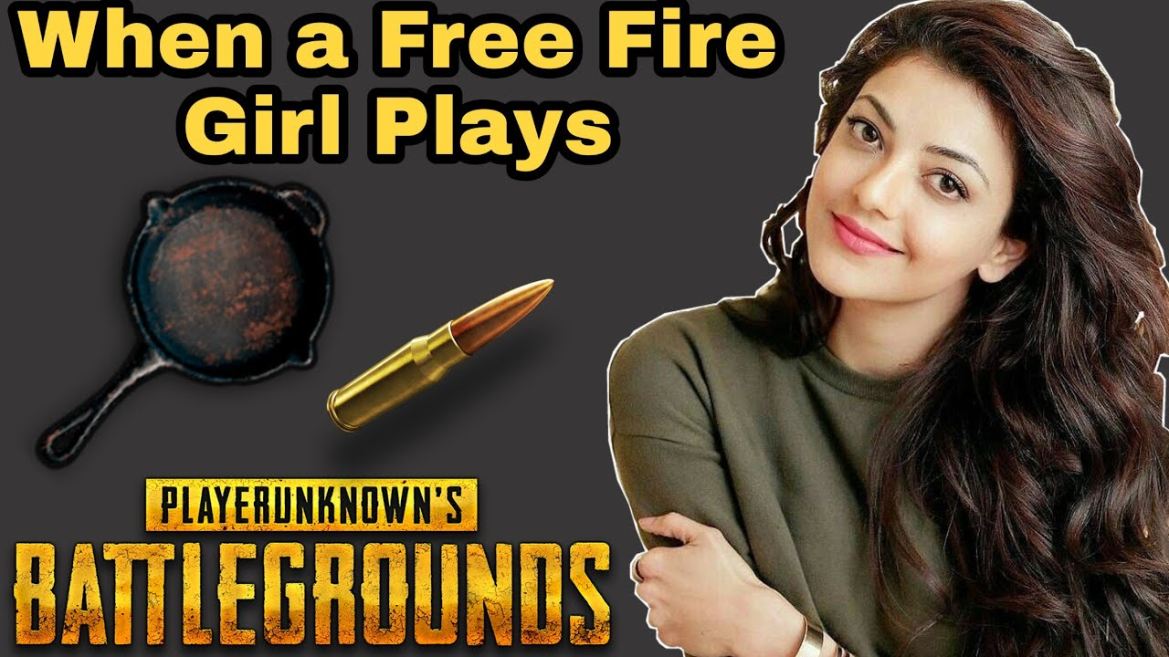When a free fire girl plays pubg 😂🤣| joining random squad | haya fun gaming | HFG
