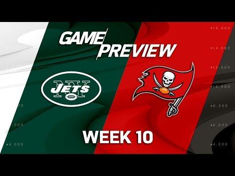 New York Jets vs. Tampa Bay Buccaneers | NFL Week 10 Game Preview