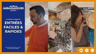 Recettes faciles au Cook Expert, Robot Kenwood et Four vapeur Siemens - Entrée Ep. 1/4