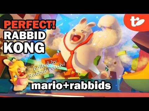 Perfect Rating in Top Banana Rabbid Kong Boss Fight | Mario + Rabbids Kingdom Battle Gameplay