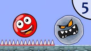Download Новый Несносный КРАСНЫЙ ШАР #5. Мультик ИГРА New Red Ball на Игрули TV Mp3 and Videos