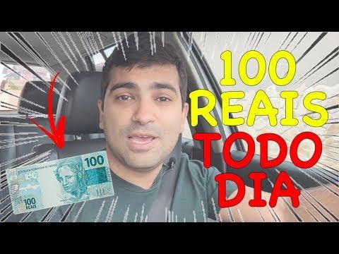 Como Ganhar 100 Reais Por Dia Sem Vender Nada Pra Ninguém e Sem Investir Dinheiro na Internet