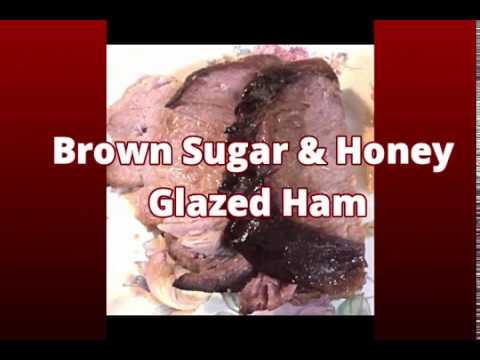 Brown Sugar & Honey Glazed Ham