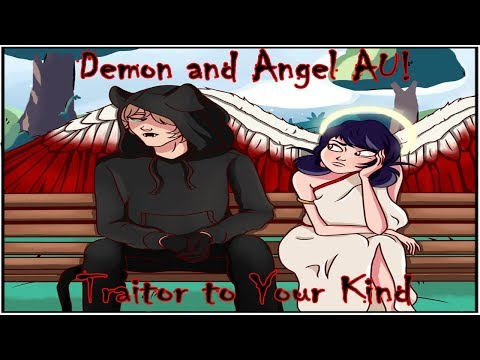 [Miraculous Ladybug Comic Dub] Demon and Angel AU! | Traitor to Your Kind