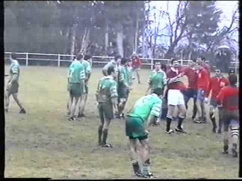 Rugby bompas Seniors contre Ponteilla Le 09 Janvier 2000 SAISON 1999/2000