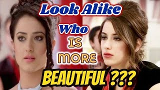 Turkish Actress Look Alike Indian Actress 2018 || Hande Erçel Vs Hena Khan || Aalisha  Vs hazal