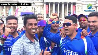 Team India reached final of ICC organised CRIIIO Cricket World Cup 2019 at London, England