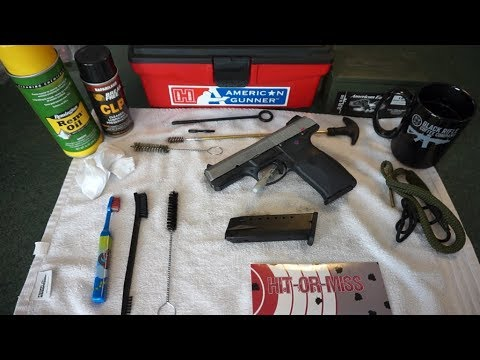How to clean the Ruger SR40