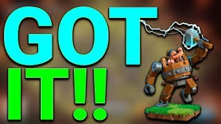 FINALLY GOT IT Clash of Clans | BEST ATTACK STRATEGY WITH BATTLE MACHINE BUILDER HALL 5 (BH5)