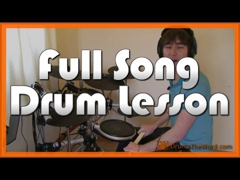 ★ Back In Black (AC/DC) ★ Drum Lesson PREVIEW   How To Play Song (Phil Rudd)