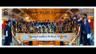 Young Leaders Interviewing Burj Al Arab GM Mr. Morio at BAA