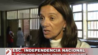 ESCUELA INDEPENDENCIA NACIONAL DE BARRIO JUAN CALCHAQUI, PROBLEMAS EDILICIOS-TV DOS SALTA 2017 Video