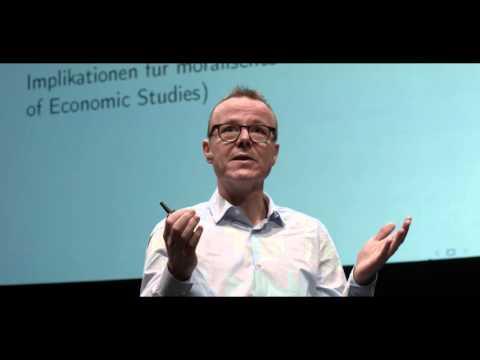 Prof. Dr. Armin Falk beim ZEIT FESTIVAL Smashing Ideas