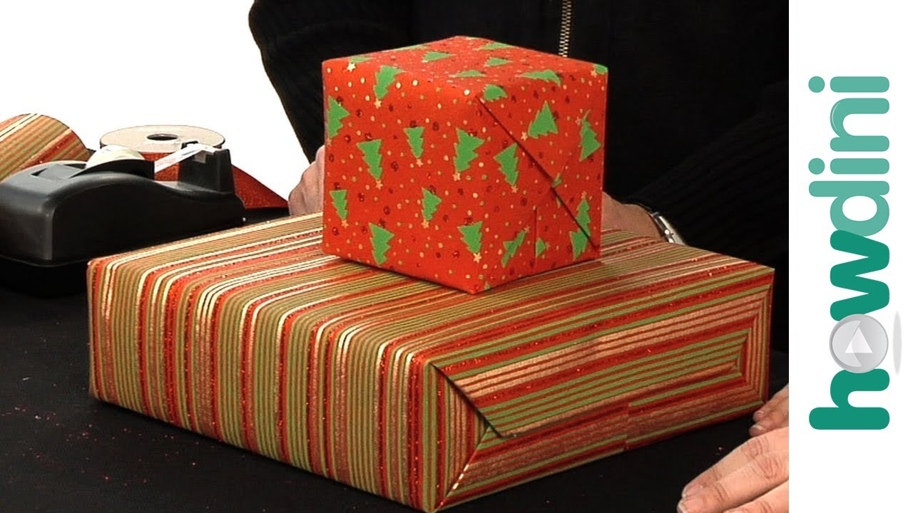 How to gift wrap boxes youtube negle Images