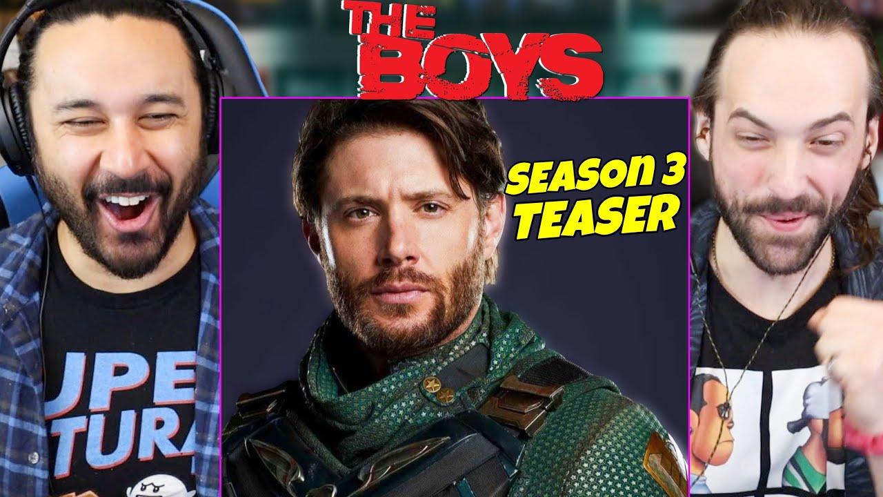 Download THE BOYS SEASON 3 First Look Teaser - Jensen Ackles Marvel Easter Eggs REACTION!!