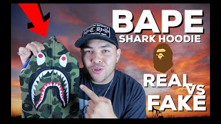 HOW TO LEGIT CHECK BAPE SHARK HOODIE (EASIEST WAY TO TELL)
