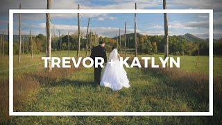 Trevor + Katlyn | A Wedding Film | The Farm at Glen Haven