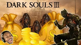 Dark Souls 3 - How To Farm Embers + Souls (Beginners Guide) - Early & Late Game - Tips & Tricks