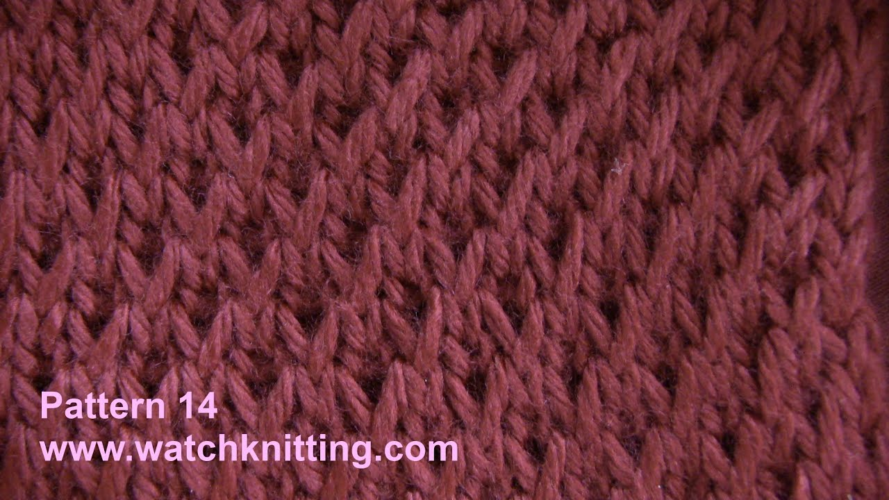 Simulated Brioche Stitch Free Knitting Tutorial Watch Knitting