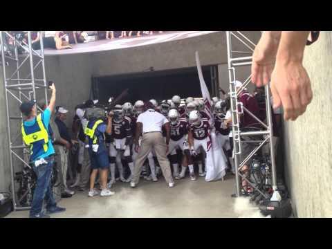 Texas A&M Walkout vs. Alabama - 9/14/13