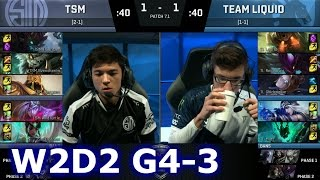 tsm vs liquid game 3   s7 na lcs spring 2017 week 2 day 2   tsm vs tl g3 w2d2 1080p