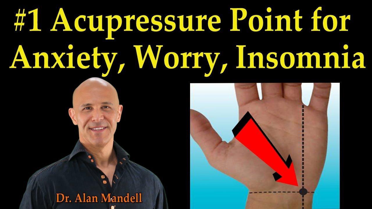 Acupressure points to ease anxiety - Living with Anxiety