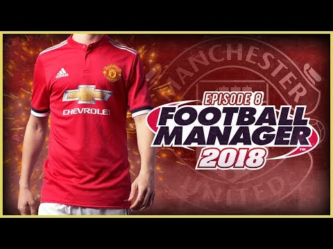 Manchester United Career Mode #8 - Football Manager 2018 Let's Play - First Champions League Game!