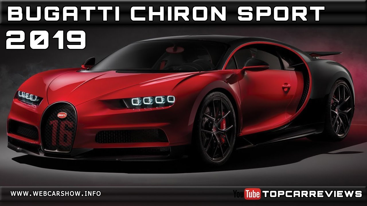 2019 Bugatti Chiron Sport Review Rendered Price Specs Release Date